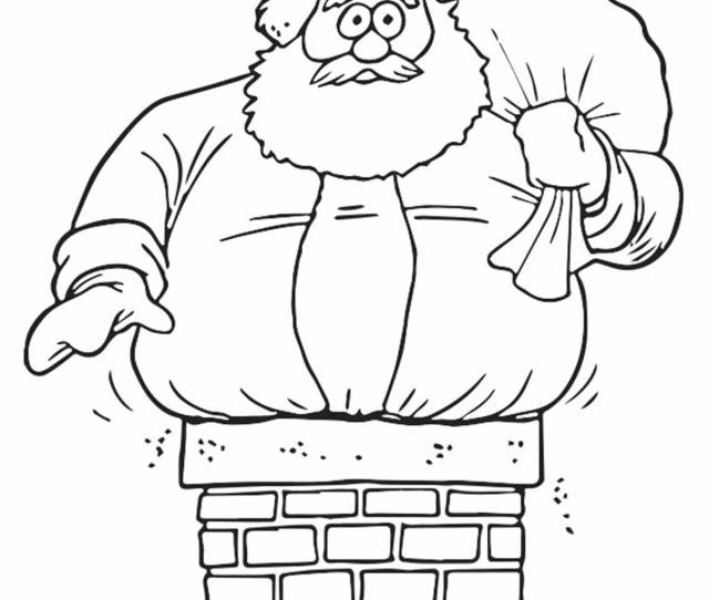 Cute Santa Claus Coloring Pages For Your Little Ones