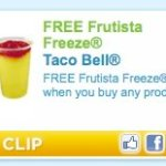Free Frutista Freeze with ANY Purchase!