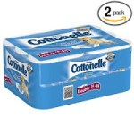 Cottonelle Double Roll Toilet Paper, 24 Pack (Pack of 2) – $19.94