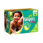 Pampers Baby Dry Diapers – Size 3 (144 Count) Only $19.92!!