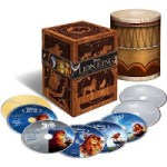 The Lion King Trilogy (Eight Disc Combo) – $44.99