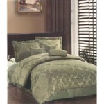 Jacquard 7 Pc Comforter Set – $39.49 (Queen or King)
