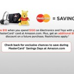 Coming Soon: Mastercard Savings Day Promotion on Amazon