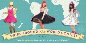 Twirl Around the World Contest