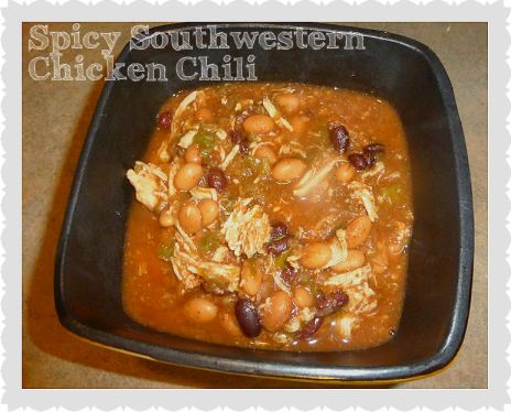 spicy southwestern chicken chili recipe