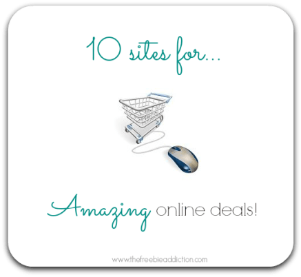 10 sites for amazing online deals