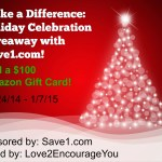 Holiday Celebration Giveaway with Save1.com: Win $100 Amazon GC!