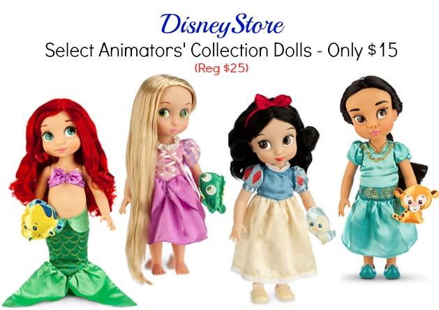 disney animators' collection dolls