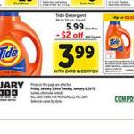 Safeway Deal: Tide Laundry Detergent Only $1 (Today Only!)