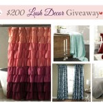 $200 Lush Decor Gift Card Giveaway – Ends Feb 17th!