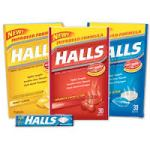 Halls 30ct Throat Lozenges as low as .97 for 2 Bags at Walmart!