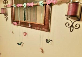 Bird themed Baby Shower