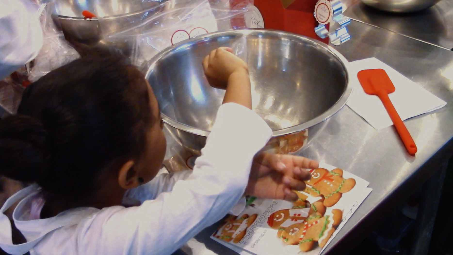 Throw A Kids Baking Party With Gingerbread Cookies