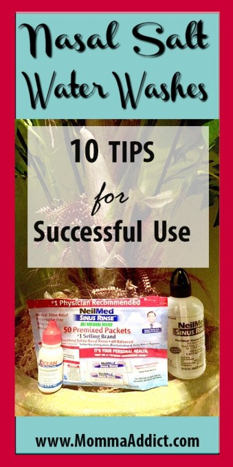 Dr. Momma shares ten tips for the successful use of nasal salt water washes in the management of allergies and chronic sinus disease.