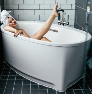 Self-Care-bath time image