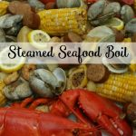 Steamed Seafood Boil