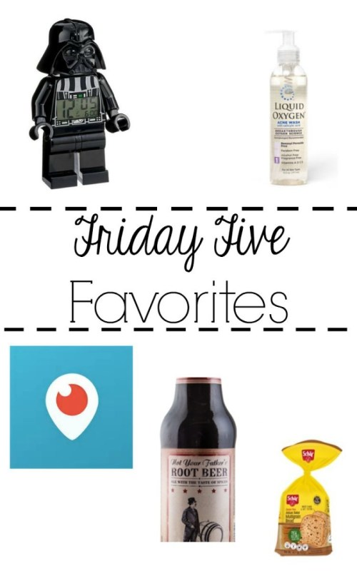 Friday Five Favorites