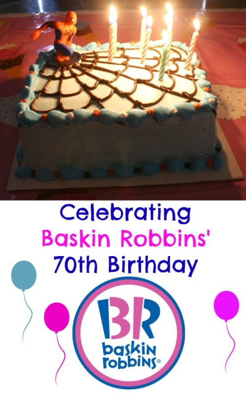 Celebrating Baskin-Robbin's 70th Birthday