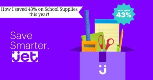 Back to School Savings at Jet.com