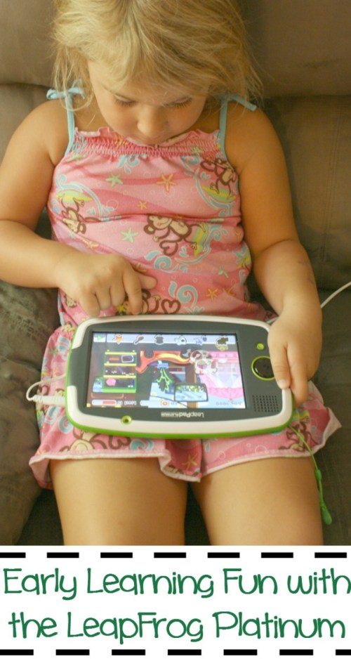 Early Learning Fun with the LeapFrog Platinum