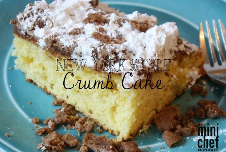 New York Style Coffee Cake