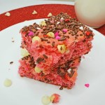 Valentine's Cake Mix Bars