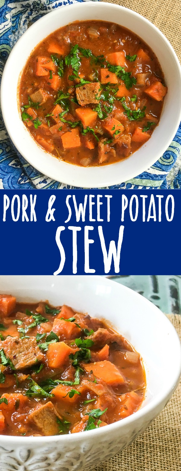 One Pot Pork and Sweet Potato Stew