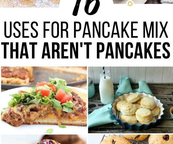 Uses for Pancake Mix That Aren't Pancakes!