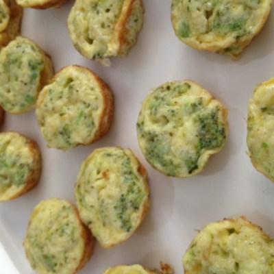 Quinoa Broccoli Frittatas