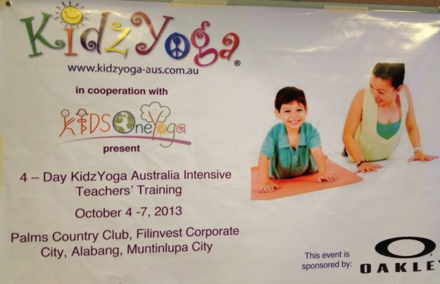 For more information you can visit the Kids One Yoga fb page or you can click here for the Event on Facebook.