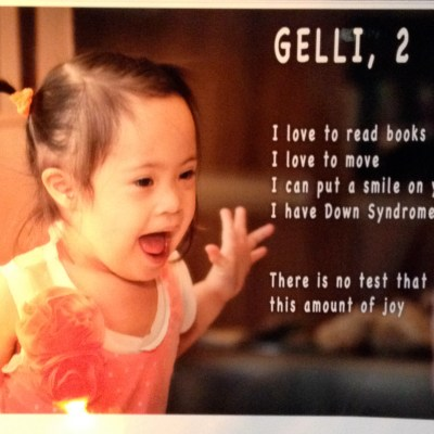 World Down Syndrome Day 2014 Part 2