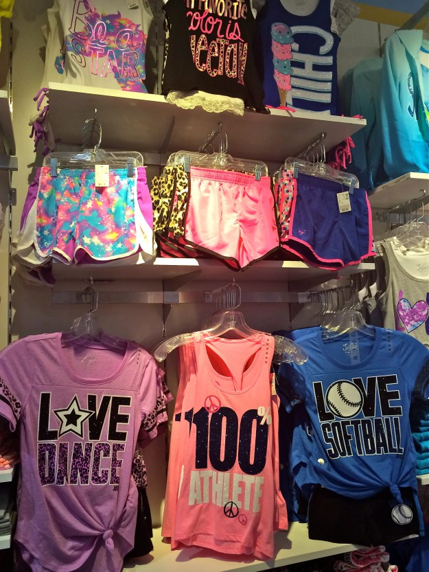 One thing I have never felt comfortable with is dressing my girls in clothes which are not age appropriate. I do not have to worry about that when I walk into this store.