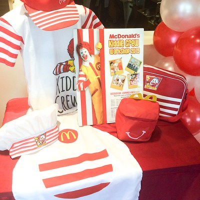 #McDoKiddieCrew-More than just Burgers and Fries