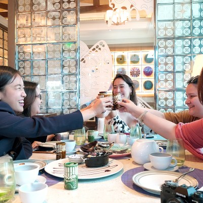 Samba and Titas Who Lunch aka Mothers Who Brunch