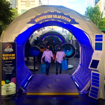 Space Adventure at Mind Museum