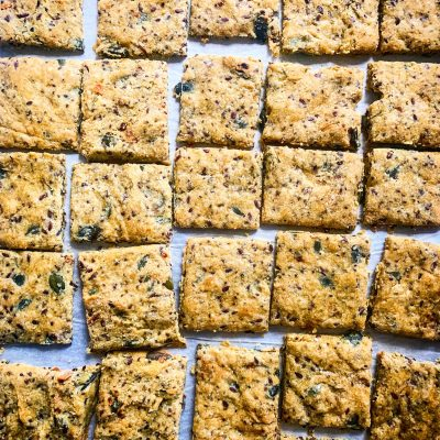 Keto Vegan Crackers
