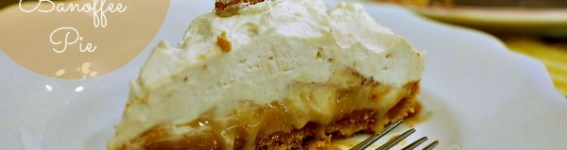 Double Toffee Banoffee Pie