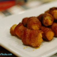 Cheese-Stuffed Spiced Bacon Tots
