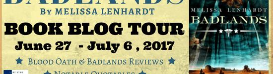 Book Blog Tour: Badlands by Melissa Lenhardt