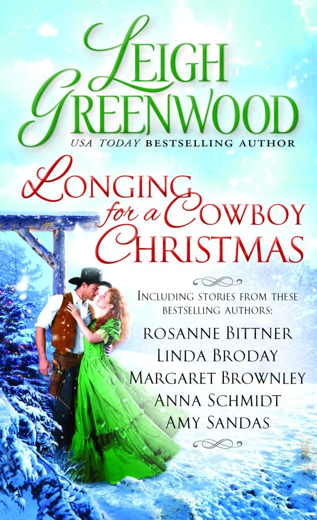 Book cover for Longing For A Cowboy Christmas