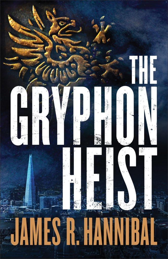 The Gryphon Heist, a fast-paced, tech-gadget spy novel which will keep you guessing who is on whose side. #TheGryphonHeist #spy #thriller
