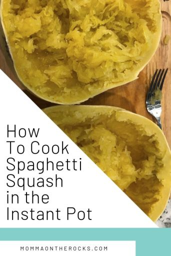 Cover image for How to cook spaghetti squash  in the instant pot