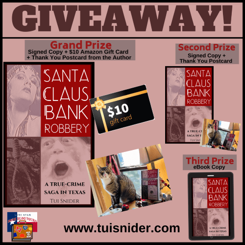 Santa Claus Bank Robbery giveaway