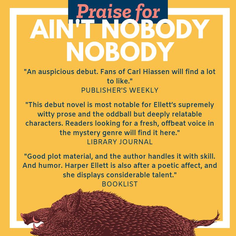 Praise for book Ain't nobody nobody