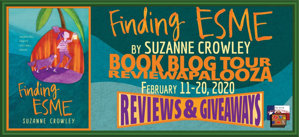 Finding Esme Blog Tour banner