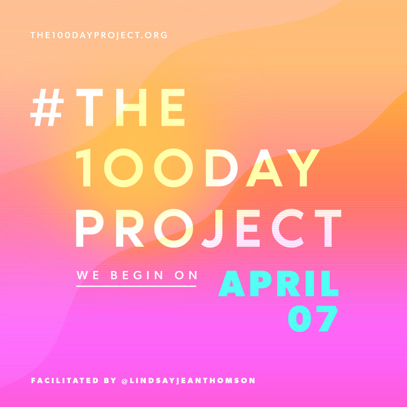 The #The100DayProject teaser image
