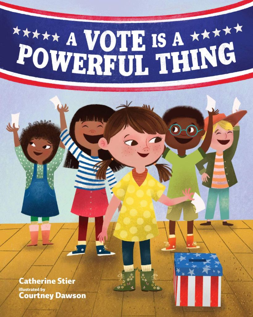Book cover image for A Vote is a Powerful Thing