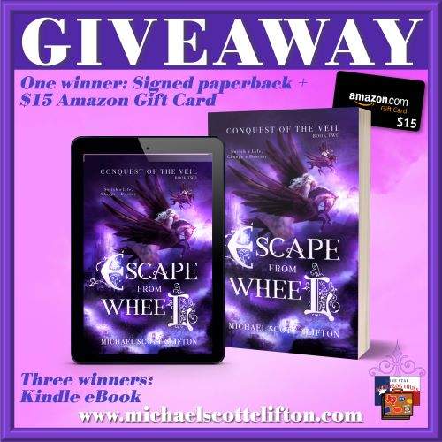 Giveaway image for Escape from Wheel
