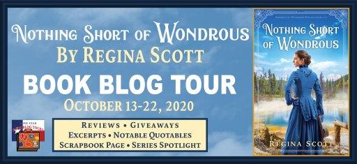 Tour banner for Nothing Short of Wondrous blog tour