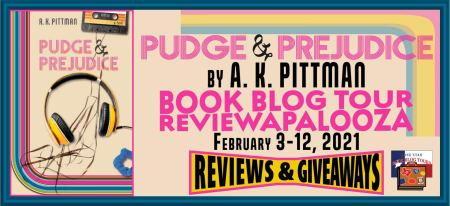 Blog tour Banner for Pudge and Prejudice by AK Pittman